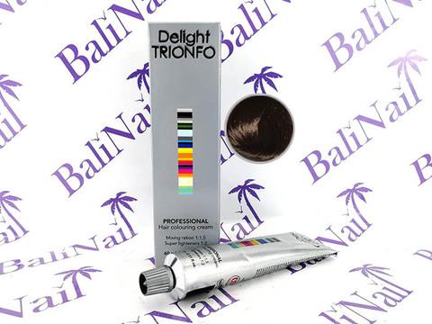 TRIONFO 4-46 стойкая крем-краска для волос Средний коричневый бежевый шоколадный, 60 мл