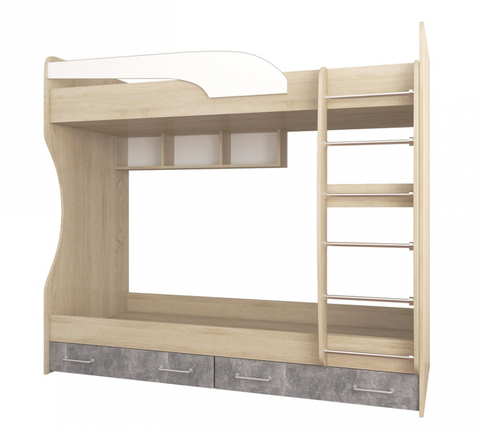 Кровать Колибри двухъярусная лофт