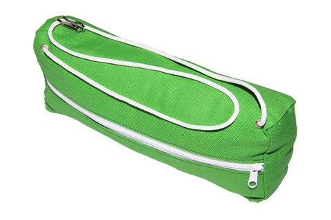 Подушка для гамака из льна зеленая