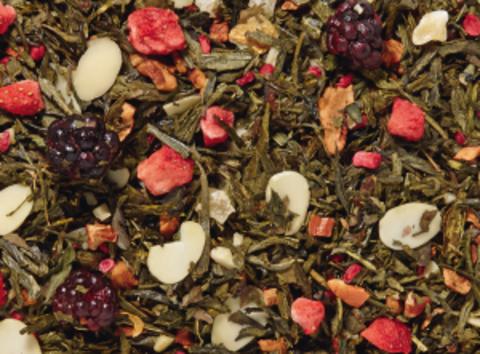 Зеленый чай Арахисовое масло и желе