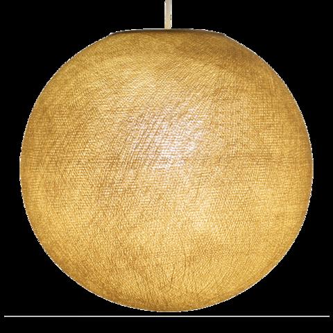 Хлопковый шар - подвес Золотистый