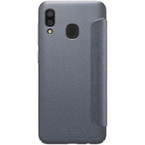 Чехол-книжка Nillkin Sparkle для Samsung Galaxy A30 Черный