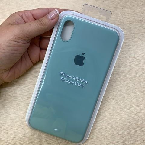 Чехол iPhone XS Max Silicone Slim Case /mint/
