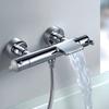 Смеситель термостатический для ванны с каскадным изливом и душевым комплектом BLAUTHERM 943901T1 - фото №2