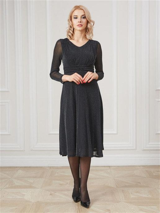 Платье 12002C черный
