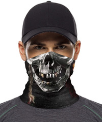 Бандана-труба с черепом Skully Tube S17 (skull pirate)
