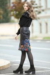 Стеганая юбка