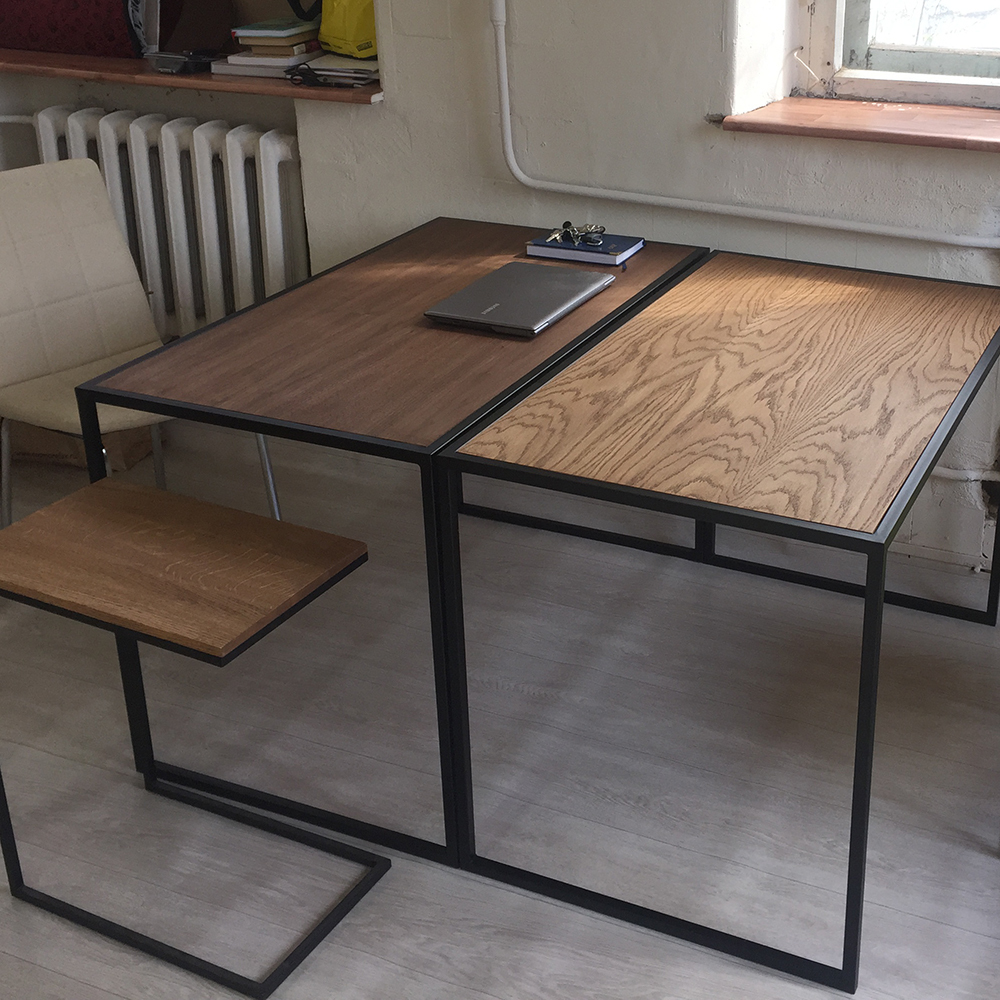 Письменный стол Romero lite black - вид 7