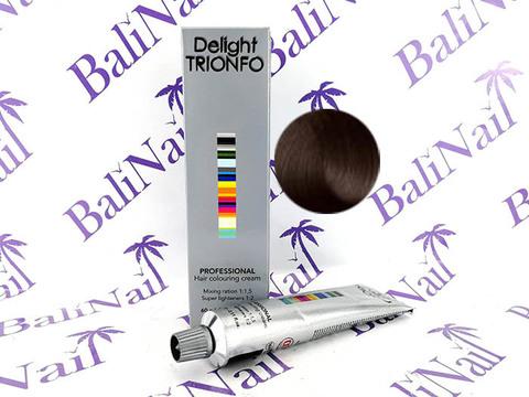 TRIONFO 4-5 стойкая крем-краска для волос Средний коричневый золотистый, 60 мл