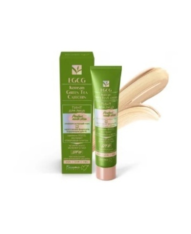 Белита М EGCG Korean GREEN TEA Тинт для лица Perfect Nude Skin универсальный тон 30г