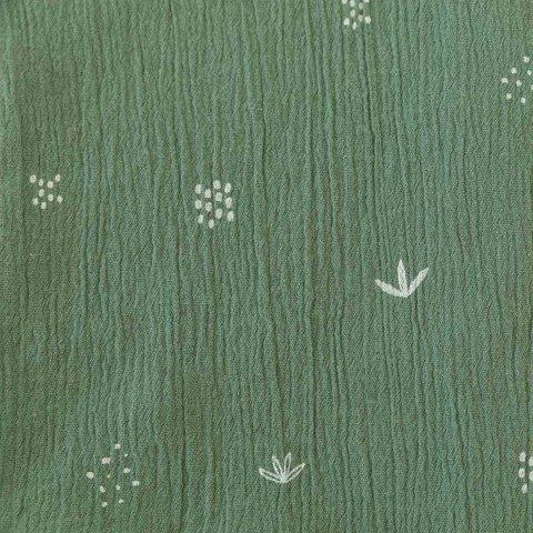 Ткань Bambula Print S/S — CACTUS KAKI