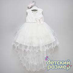 Платье (ободок, брошь, кружево)