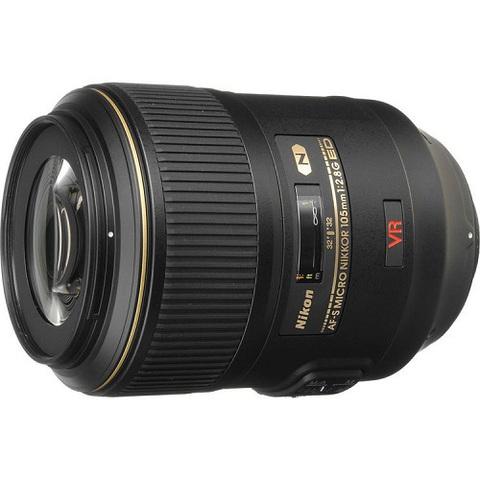 Объектив Nikkor AF-S 105mm f/2.8G ED VR IF Micro Black для Nikon