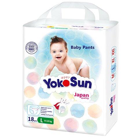 Трусики Yokosun,  9-14 кг (L) мини упаковка