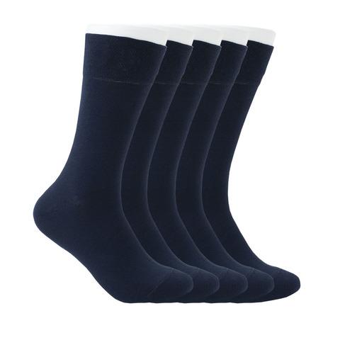 Набор темно-синих носков из 5 пар купить