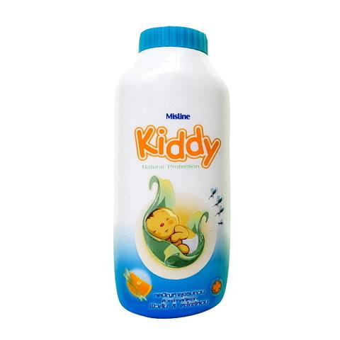 Детская тальковая присыпка с эффектом отпугивания комаров Kiddy Natural Protection Mistine 100 г..