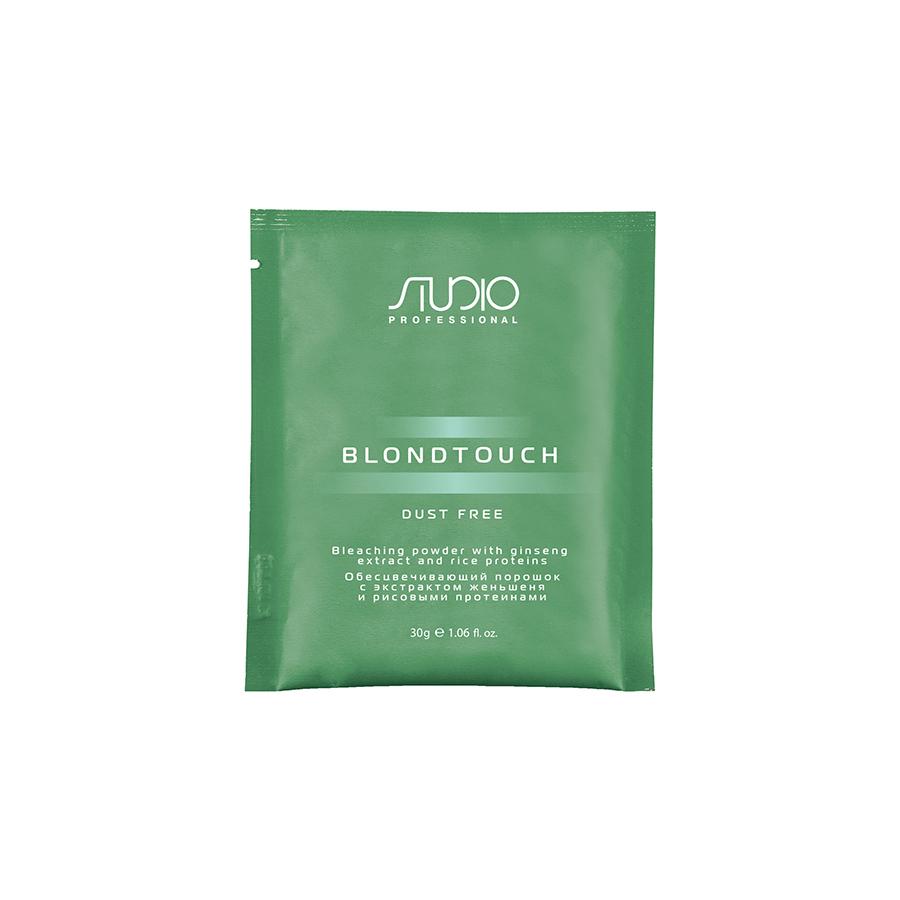 Обесцвечивающий порошок для волос с экстрактом женьшеня и рисовыми протеинами Kapous 30 гр