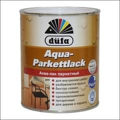 Лак глянцевый для паркета Dufa AQUA-PARKETTLACK (Прозрачный)
