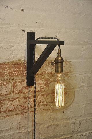 Светильник настенный Wood-S3 (Black)