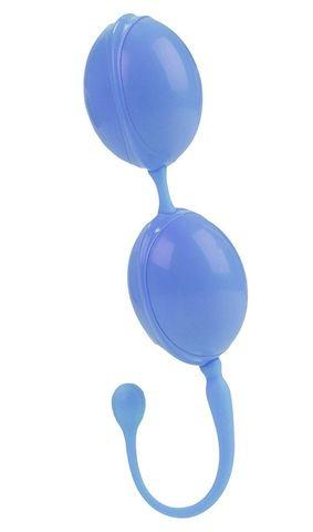 Голубые вагинальные шарики LAmour Premium Weighted Pleasure System