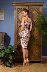 Комплект, топ и юбка