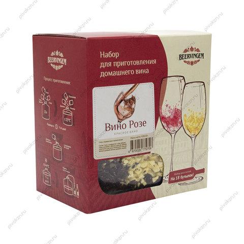 """Набор для приготовления вина """"Вино Розе"""" Beervingem"""