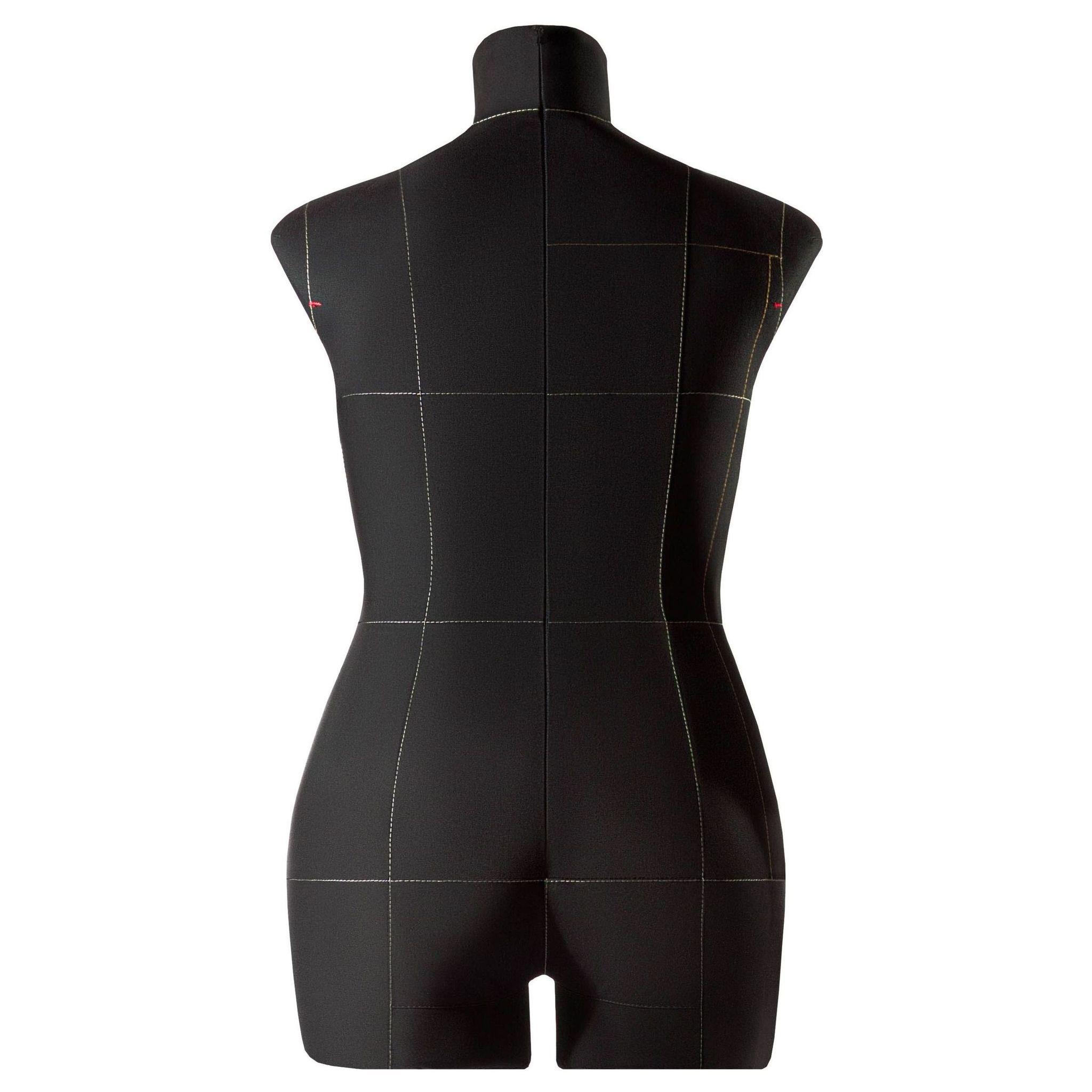 Манекен портновский Моника, комплект Про, размер 50, ЧерныйФото 2