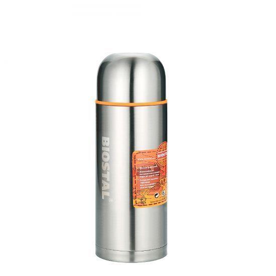 Термос Biostal Спорт (1 литр), стальной