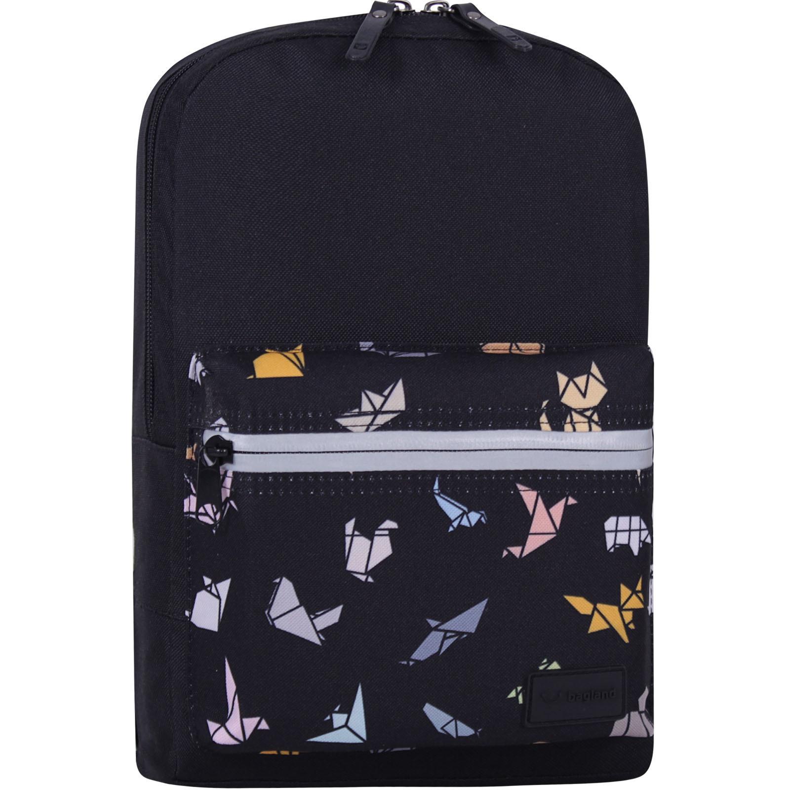 Молодежные рюкзаки Рюкзак Bagland Молодежный mini 8 л. черный 752 (0050866) IMG_7705_суб752_-1600.jpg