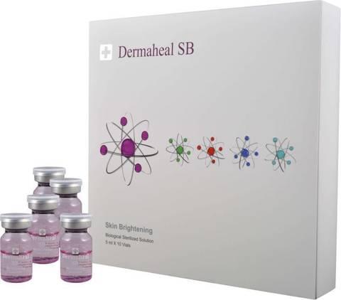 Мезококтейль Dermaheal SB от пигментации 1 упаковка 10 ампул по 5 мл.