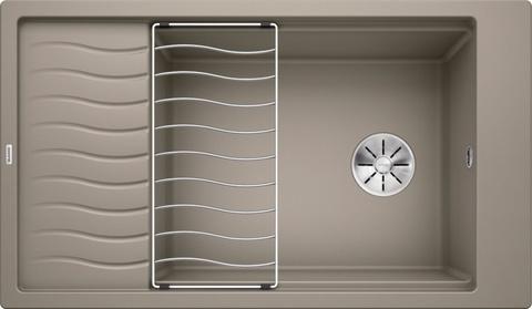 Кухонная мойка Blanco ELON XL 8 S, серый бежевый