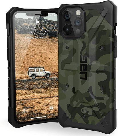 Чехол Uag Pathfinder SE Camo для iPhone 12/12 Pro зеленый камуфляж (Forest Camo)