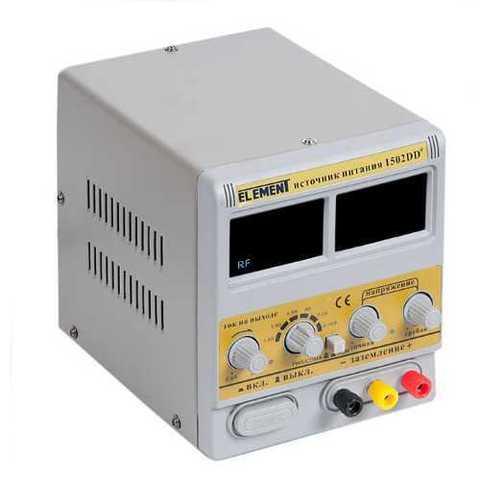 Лабораторный блок питания ELEMENT 1502DD