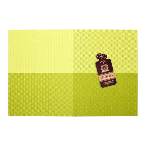 Салфетка сервировочная «Геометрия» лайм 30х45 см