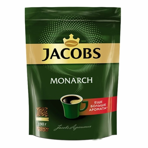 Кофе JACOBS MONARCH 190 гр м/у РОССИЯ