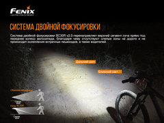 Велофара Fenix BC30 V2.0 2200lm