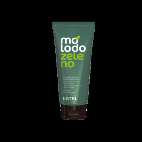 Гель для душа с хлорофиллом ESTEL Molodo Zeleno, 200 мл
