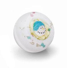 Десерт-шарик  для ванн комбинированный СНЕГОВИК, серия