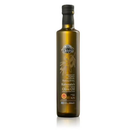 Масло оливковое Extra Virgin Kalamata, 500 мл.
