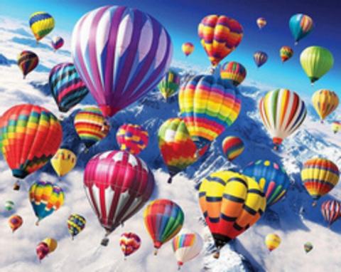 Алмазная Мозаика 30x40 Фестиваль воздушных шаров (арт. HZM1032)