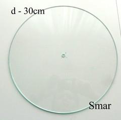 Часы диаметр 30см, стекло