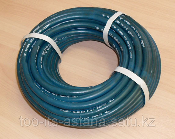 Рукав кислородный д.6(черный с синей полосой), бухта 50м