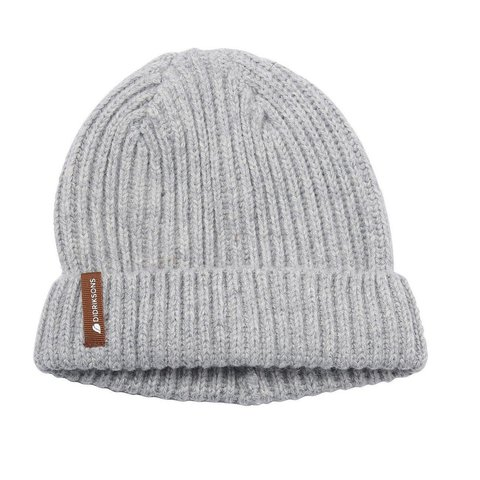 шапка Didriksons Nilson Knitted Grey melange