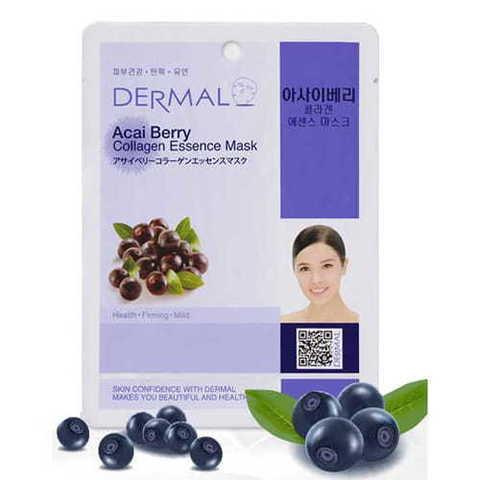 Маска для лица Dermal (с ягодами асаи и коллагеном)