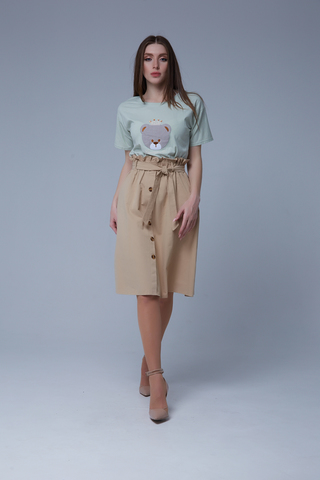 удлиненная юбка недорого