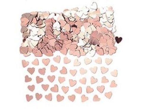 1501-4211 Конфетти Сердца розовое золото 14гр/A