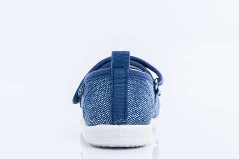 Туфли текстильные синие, цветок, Котофей (ТРК ГагаринПарк)