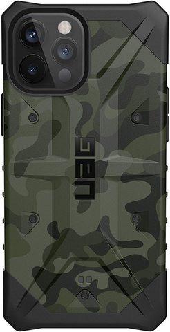 Чехол Uag Pathfinder SE Camo для iPhone 12/12 Pro зеленый камуфляж (Forest Camo) 112357117271