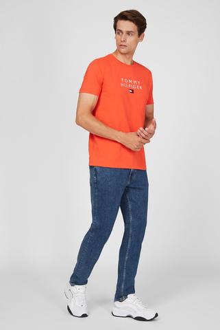 Мужские синие джинсы STRAIGHT DENTON SSTR PHOENIX IND Tommy Hilfiger