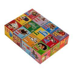 "Кубики ""Азбука"", 12 штук"
